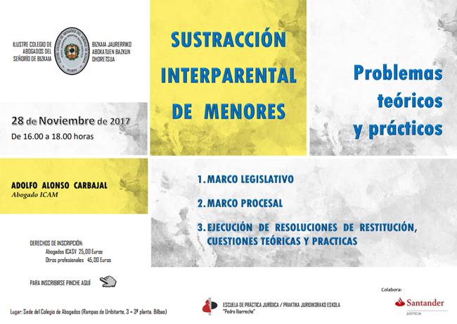 Información de Curso sobre Sustracción Internacional de Menores
